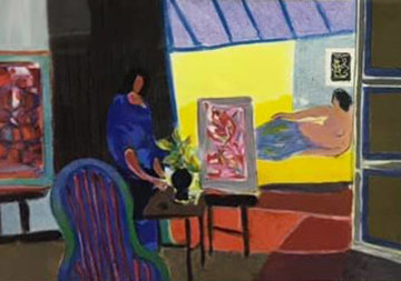 La Modele 2004 Limited Edition Print by Marcel Mouly