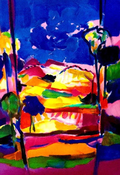 Haute Provence 2006 Limited Edition Print by Marcel Mouly