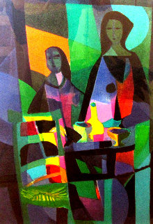 Les 2 Asiatique Limited Edition Print by Marcel Mouly