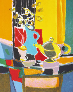 Le Pichet Chinois 2004 Limited Edition Print - Marcel Mouly