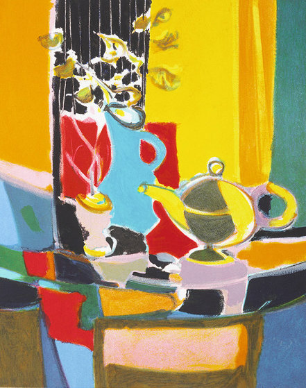 Le Pichet Chinois 2004 Limited Edition Print by Marcel Mouly