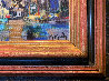 Chicago Le Soir 1994 16x20 Original Painting by Marcel Mouly - 5