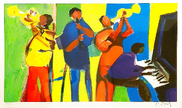 Guimette Jazz 2004 Limited Edition Print - Marcel Mouly