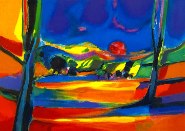 L'ete Chaud 1999 Limited Edition Print - Marcel Mouly