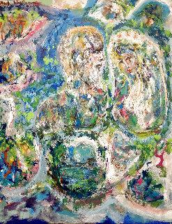 Wedding 50x38 Original Painting - Max Shertz