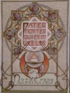 Le Pater - Notre Pere Qui Etes Aux Cieux (Our Father Who is in the Heavens) 1899 Limited Edition Print - Alphonse Mucha