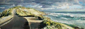 Strength 2014 20x59 Original Painting - Kristian Mumford