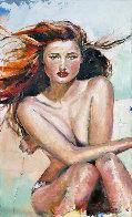 Innocence  2013 99x60 Super Huge Original Painting by Kristian Mumford - 0