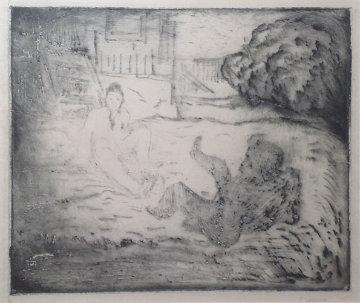 Slagsmalet Limited Edition Print - Edvard Munch