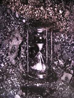 Hour Glass (From Pictures of Soil Series) 1998 Limited Edition Print - Vik Muniz