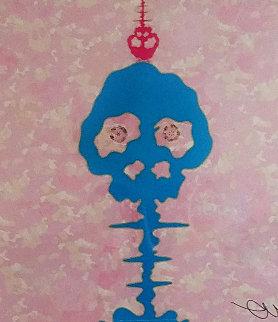 Time Bokan Camouflage Pink 2014 Limited Edition Print - Takashi Murakami