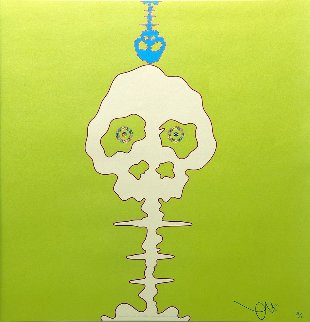 Time Bokan Neongreen 2006 Limited Edition Print by Takashi Murakami