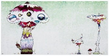 Hypha Will Cover the World Limited Edition Print by Takashi Murakami