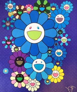 Blue Velvet and Rose Velvet 2016 Limited Edition Print - Takashi Murakami