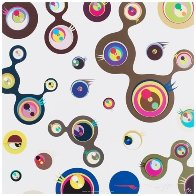 Jellyfish Eyes - White 3 2006 Limited Edition Print by Takashi Murakami - 1