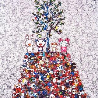Kaikai, Kiki, Dob And Pom Atop the Mound of Dead 2013 Limited Edition Print - Takashi Murakami