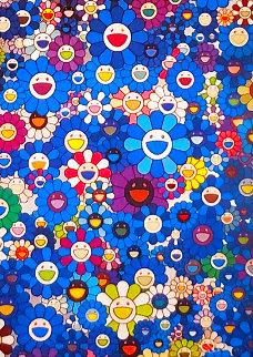 An Homage to IKB C 2012 Limited Edition Print - Takashi Murakami