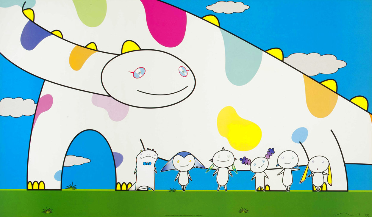 Yoshiko and The Creatures From Planet 66 2003 Limited Edition Print by Takashi Murakami