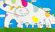 Yoshiko and The Creatures From Planet 66 2003 Limited Edition Print by Takashi Murakami - 0