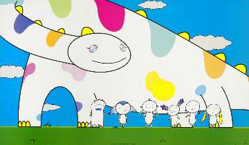Yoshiko and The Creatures From Planet 66 2003 Limited Edition Print - Takashi Murakami