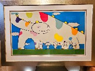Yoshiko and The Creatures From Planet 66 2003 Limited Edition Print by Takashi Murakami - 1