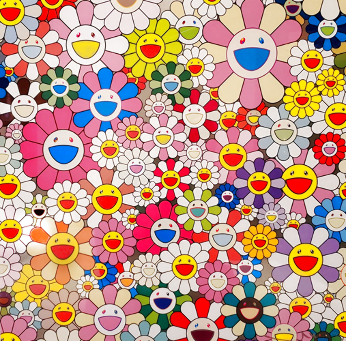 Flower Smile 2011 Limited Edition Print by Takashi Murakami