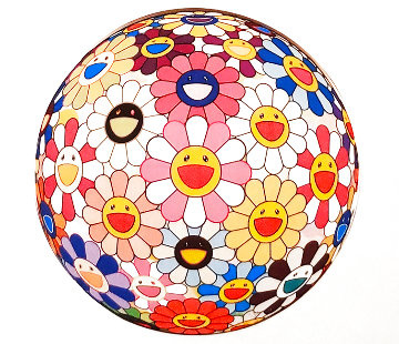 Flower Ball - Pink 2007 Limited Edition Print - Takashi Murakami
