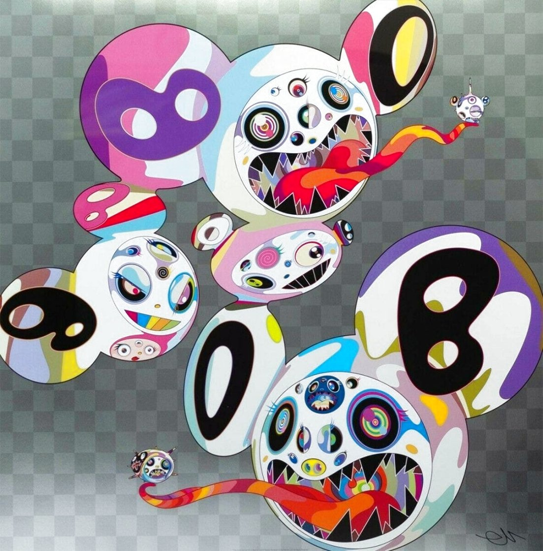 In This World And The Next Beyond Rest 2013 Limited Edition Print by Takashi Murakami