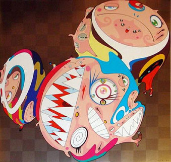 Melting DOB D 2008 Limited Edition Print - Takashi Murakami