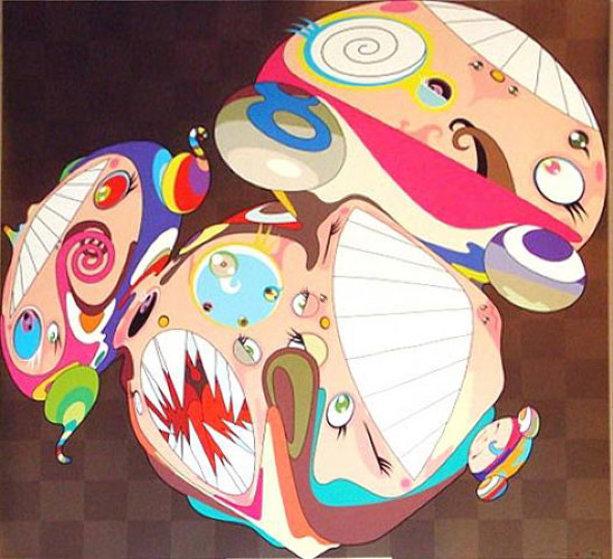 Melting DOB E 2008 Limited Edition Print by Takashi Murakami