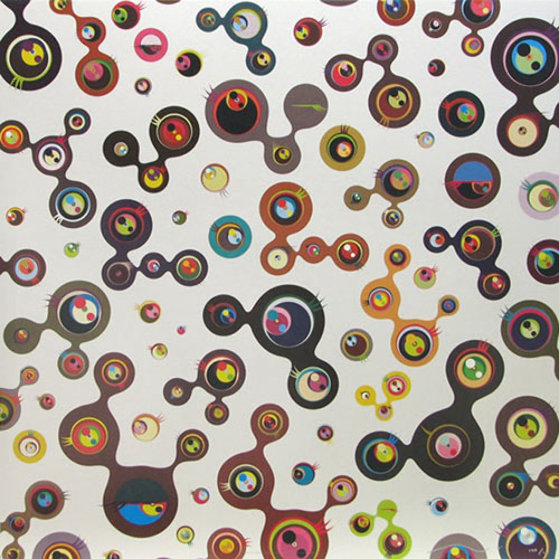 Jelly Fish Eyes White 5 2006 Limited Edition Print by Takashi Murakami