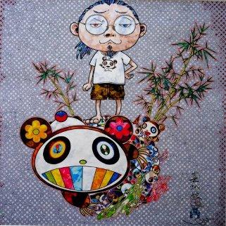 I Met a Panda Family  2013 Limited Edition Print - Takashi Murakami