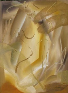 Golden Glow 2004 Original Painting by Elaine Murphy