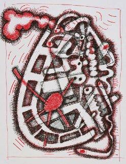 Tybid 2004 Limited Edition Print - Elizabeth Murray