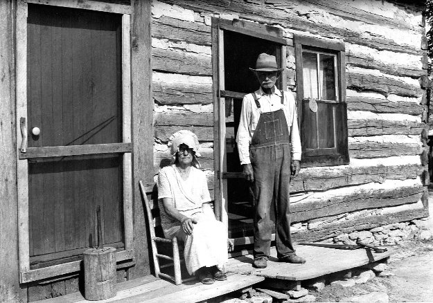 Sharecropper Couple  Limited Edition Print by Carl Mydans