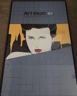 Art Expo NY AP 1981 Limited Edition Print by Patrick Nagel - 2