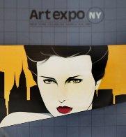 Art Expo NY AP 1981 Limited Edition Print by Patrick Nagel - 0