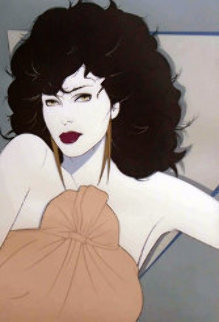Joan Collins 1982 Limited Edition Print - Patrick Nagel