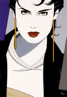 Michelle 1982 Limited Edition Print - Patrick Nagel