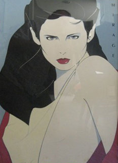 Mirage Limited Edition Print - Patrick Nagel