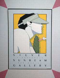 Silver Sunbeam 1979 Limited Edition Print by Patrick Nagel