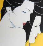 Diptych 1983 Limited Edition Print - Patrick Nagel
