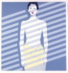 Venetian Lady Ap 1981 Limited Edition Print - Patrick Nagel