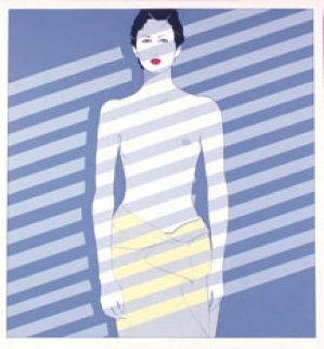 Venetian Lady Ap 1981 Limited Edition Print by Patrick Nagel