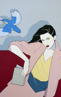 Piedmont Book Company 1979 Limited Edition Print by Patrick Nagel