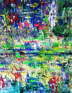 Wonder 2019 16x20 Original Painting - Linda Naili