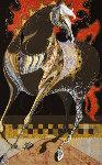 Blazing Mane B  1987 Limited Edition Print - Tadashi Nakayama