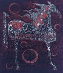 Horse Orb 1961 Limited Edition Print - Tadashi Nakayama