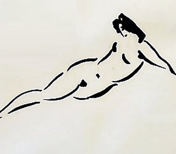 Reclining Nymph AP 1980 Limited Edition Print - Reuben Nakian