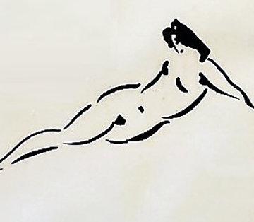 Reclining Nymph AP 1980 Limited Edition Print - Reuben Nakian